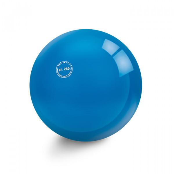 Blau Gymnastikball GLATT