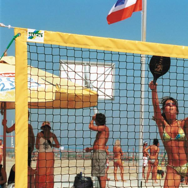 Tennis, Volleyball & Badminton: 3 Beachsportarten 1 System