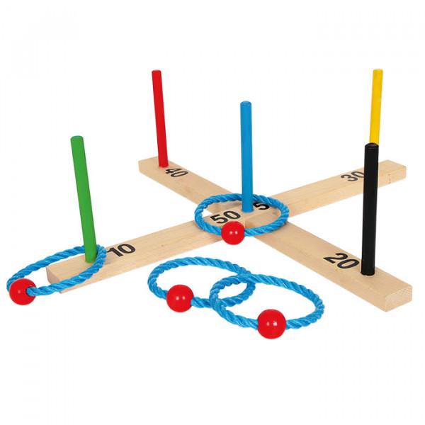 Ringwurfspiel Zahlenkreuz