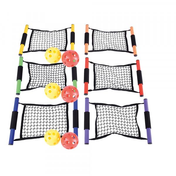 Netzfangspiel Bunt - 6er Set