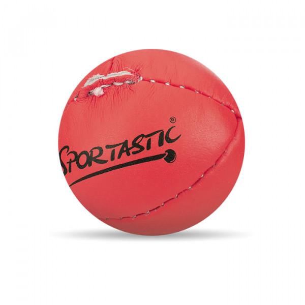 Sportastic Schlagball Leder Rot, 80 Gramm
