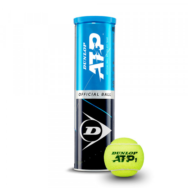 Tennisball DUNLOP ATP Official-Ball mit Dose