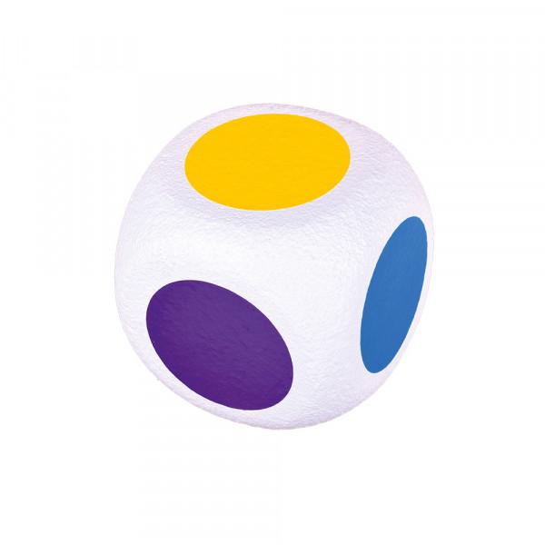 6-Farben-Würfel ELEFANTENHAUT