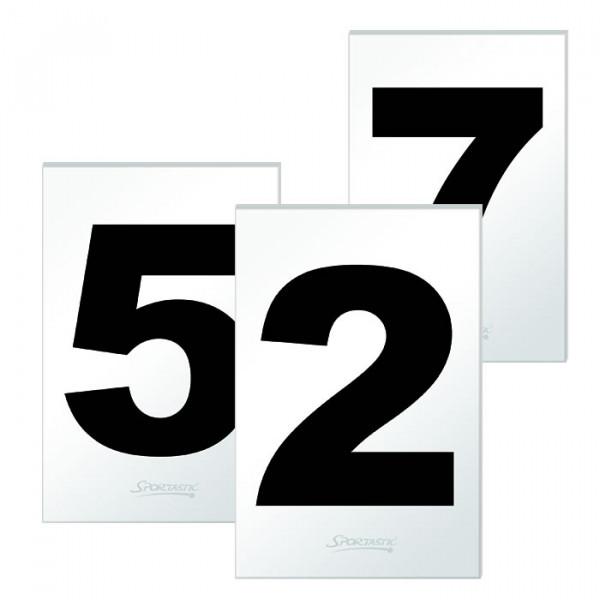 Hinweisschild Platznummer 1 - 12