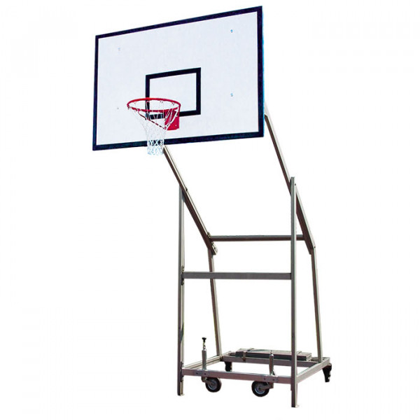 Mobile Basketballanlage ALU ROBUST