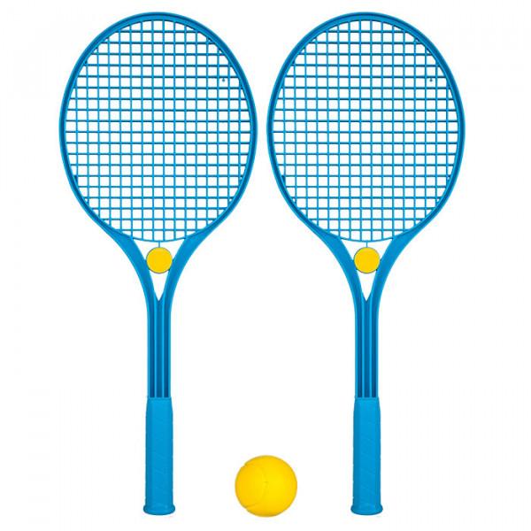 Tennis-Set aus schlagfestem Kunststoff