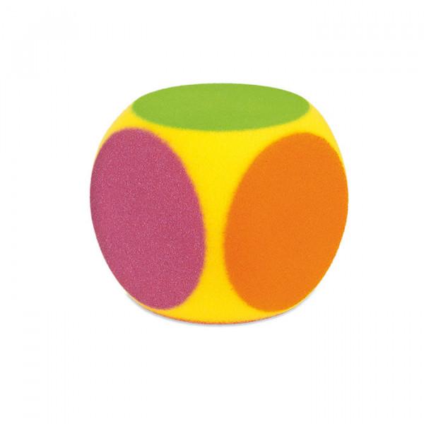 6-Farben WÜRFEL VOLLEY - 16 cm