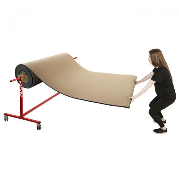 Die Lieferung erfolgt ohne Rollmatte.