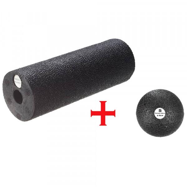 Faszienset MINI, Ball 6 cm + Rolle Mini 15 x Ø 5,5 cm