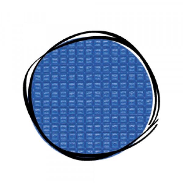 Umänderung in Farbe BLAU Turnmattenstoff geprägt