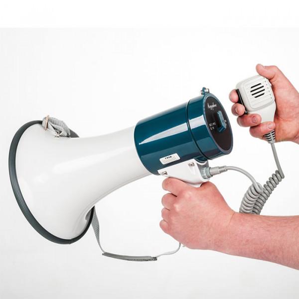 Megephone mit Handmikro