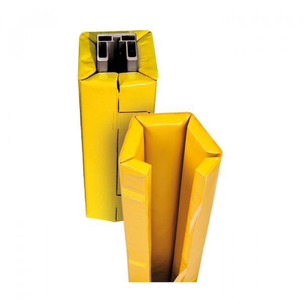 Pfostenschutz Quadratisch, Farbe GELB