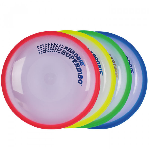 Lieferung farblich sortiert - Aerobie Superdisc - Frisbee alle Farben