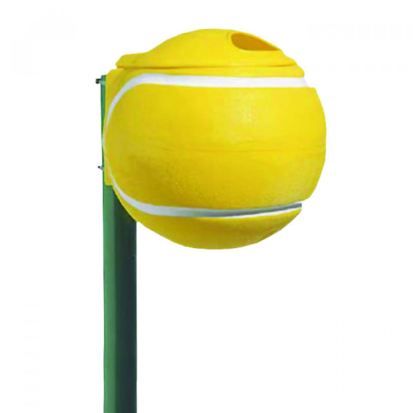 ABFALLEIMER Tennisball GELB