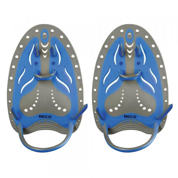 Handpaddles Flexible Hydro blau