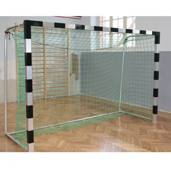 Handballtor mit starren Netzbügel