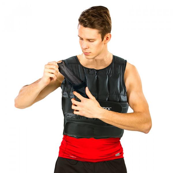 Gewichts-Taschen ermöglichen ein schnelles Entfernen oder Hinzuziehen von Gewichten