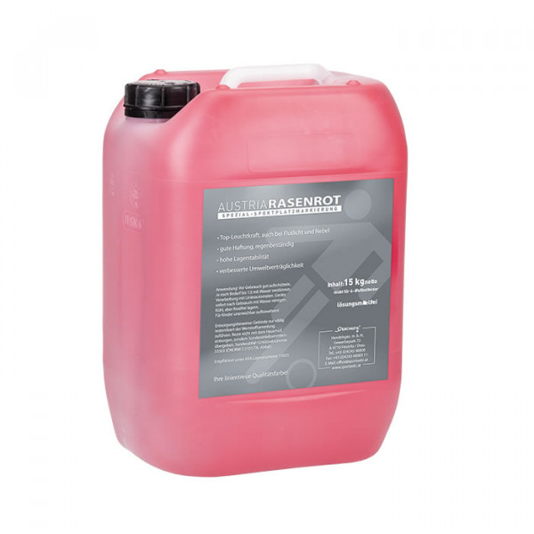 Nassmarkierfarbe Austria Rot Concentrate 10 Lit/15,9 kg