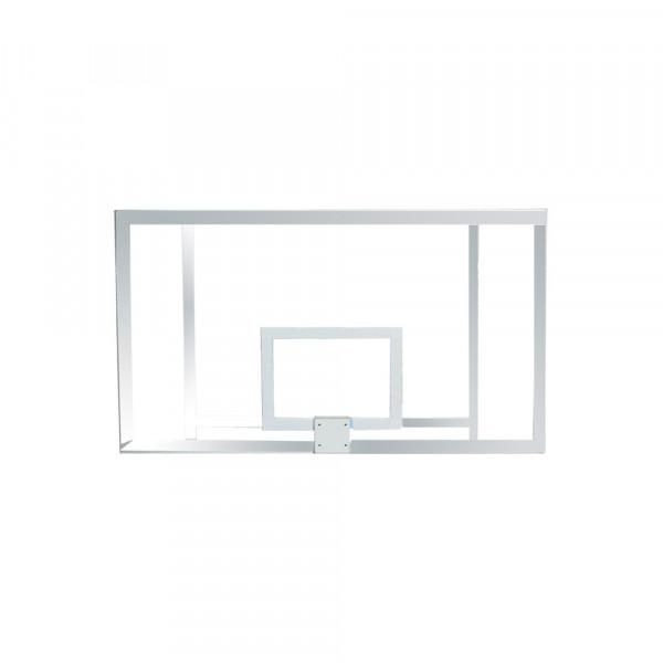 Wettkampf Basketball Zielbrett Acryl - AUF STAHLROHRRAHMEN