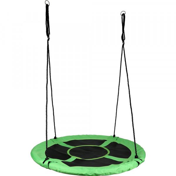 Nestschaukel grün-schwarz