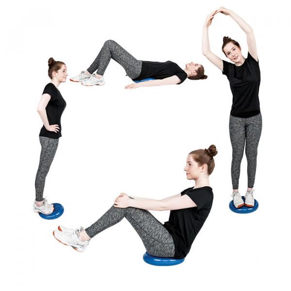 Übungen Balancekissen SPORTASTIC