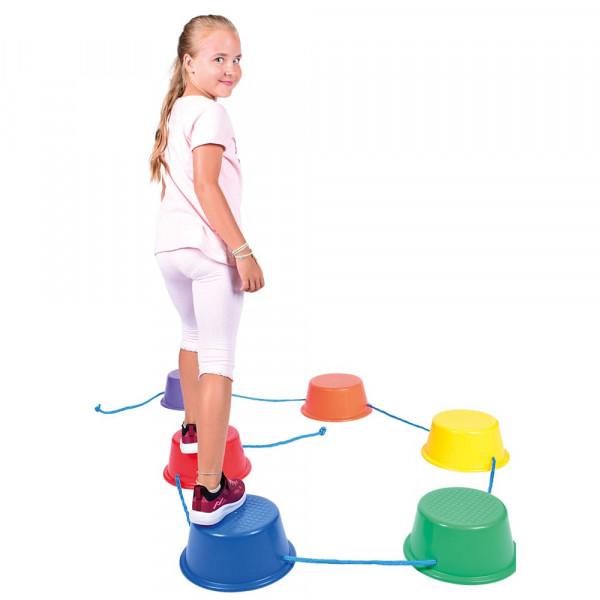 Balancierstrecke Walking - Buckets