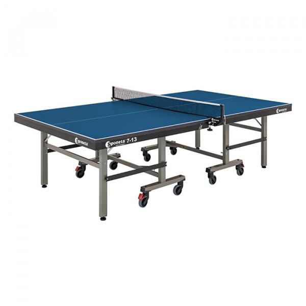 Tischtennistisch LEISTUNGSSPORT ITTF COMPACT - INDOOR - Blau